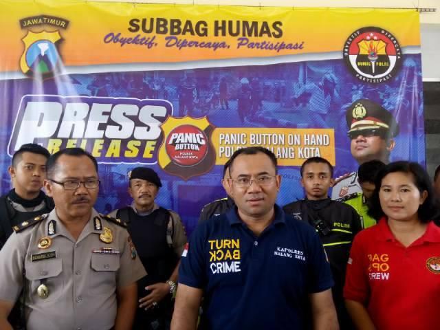 Panic Button Polres Malang Kota Persempit Gerak Tindak Kejahatan