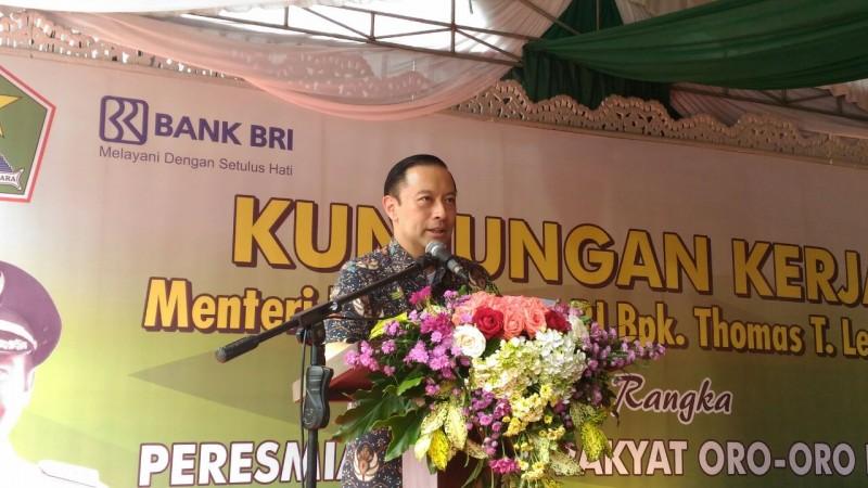 Menteri Perdagangan Resmikan Pasar Oro-Oro Dowo