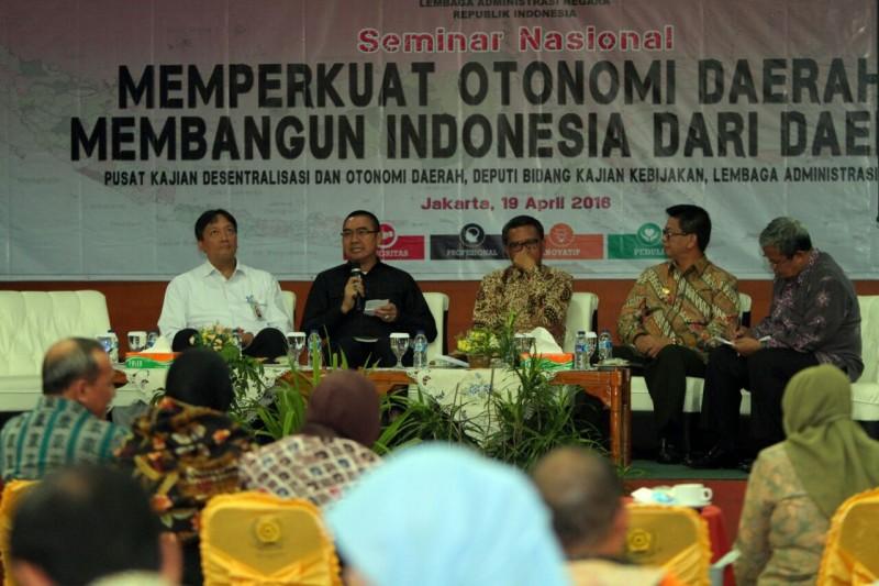 Abah Anton Beberkan Jurus Jitu di Hadapan Para Kepala Daerah se Indonesia