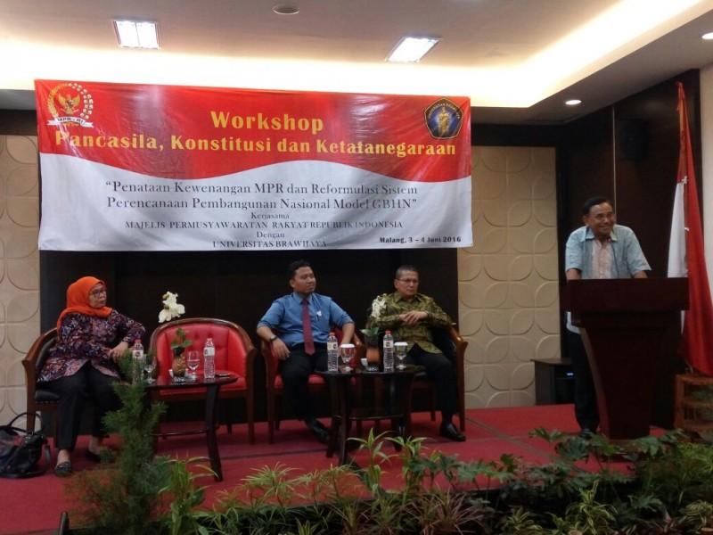 MPR Menggandeng Universitas Brawijaya Membahas Pancasila, Konstitusi dan Ketatanegaraan