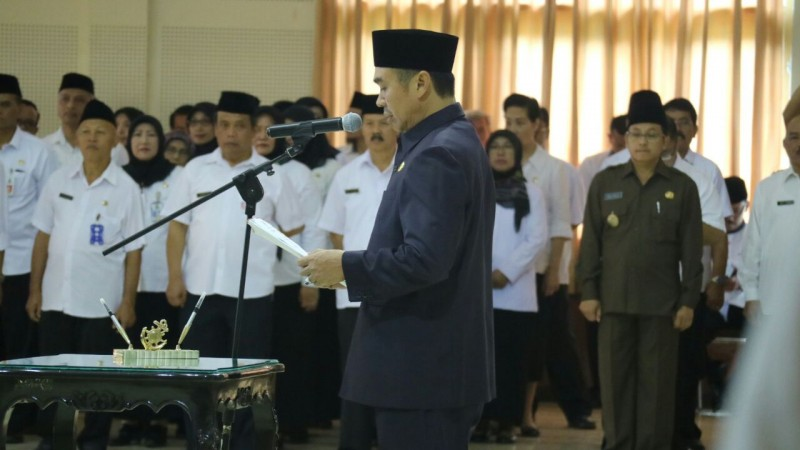Abah Anton Lantik Kepala SKPD di Lingkungan Pemerintah Kota Malang