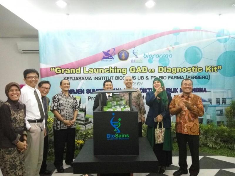 Dirjen Dikti : UB Berinovasi, Setelah Menggelar Grand Launching GAD65 Diagnostic Kit