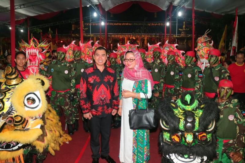 Abah Anton Hadiri Perayaan Ulang Tahun ke 191 tahun Kelenteng Eng An Kiong Malang