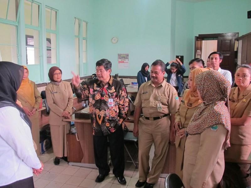 Hari Pertama Kerja, Sekda Lakukan Sidak Pegawai ASN di Pemkot Malang