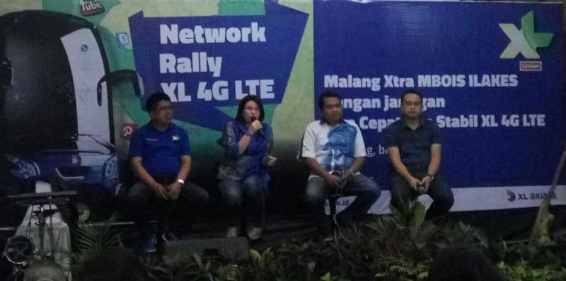 XL Semakin Perluas Internet Tercepat  4G LTE di Kota Malang