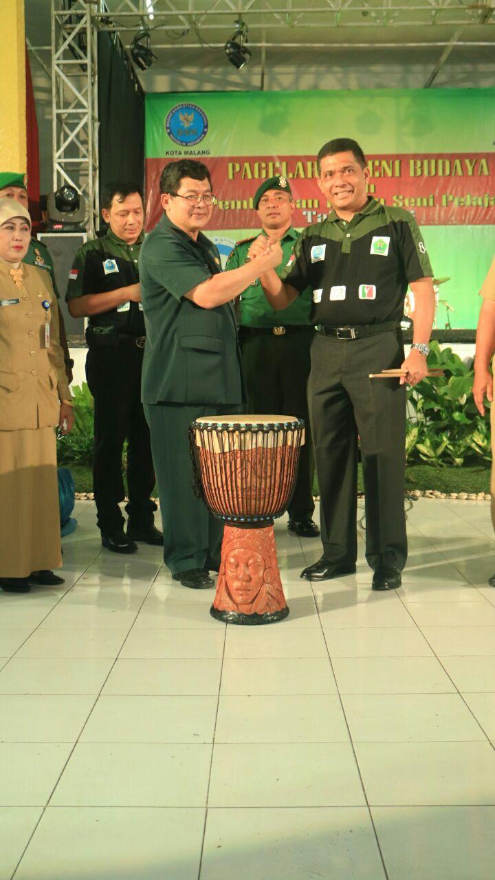 BNNP Dan Dinas Pendidikan Ajak Pelajar Perangi Narkoba Melalui Pekan Seni Budaya 2016