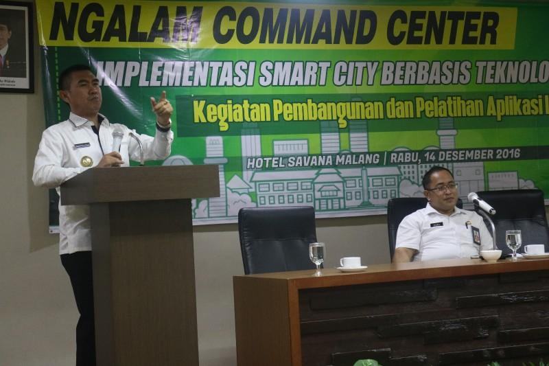 Abah Anton Bangun Command Center Sebagai Implementasi Smart City