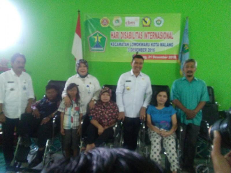 Pemkot Malang Beri Bantuan Bagi Penyandang Disabilitas