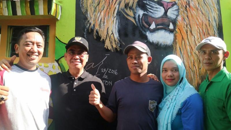 Abah Anton Kunjungi Kampung Wisata Sanan di Kelurahan Purwantoro