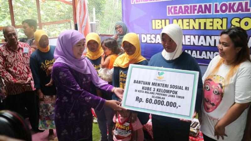 Menteri Sosial Apresiasi Perkembangan Desaku Menanti di Kota Malang