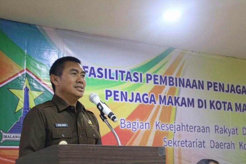 Fasilitasi Pembinaan Penjaga Tempat Ibadah dan Penjaga Makam di Kota Malang.