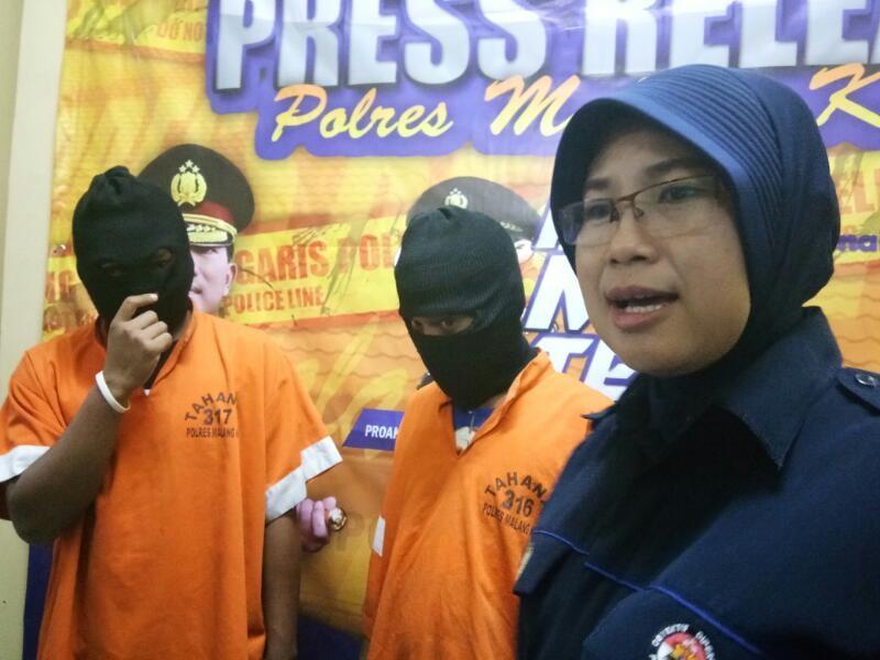 Polres Malang Kota Menemukan Narkoba Didalam Bungkus Permen