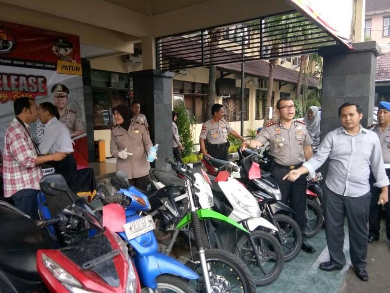 Gerombolan Mahasiswa PTS/PTN Malang Pelaku Curanmor