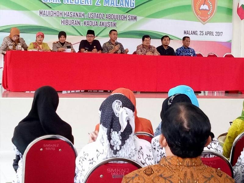 Abah Anton Gelar Rapat Koordinasi Kepala Sekolah se Kota Malang