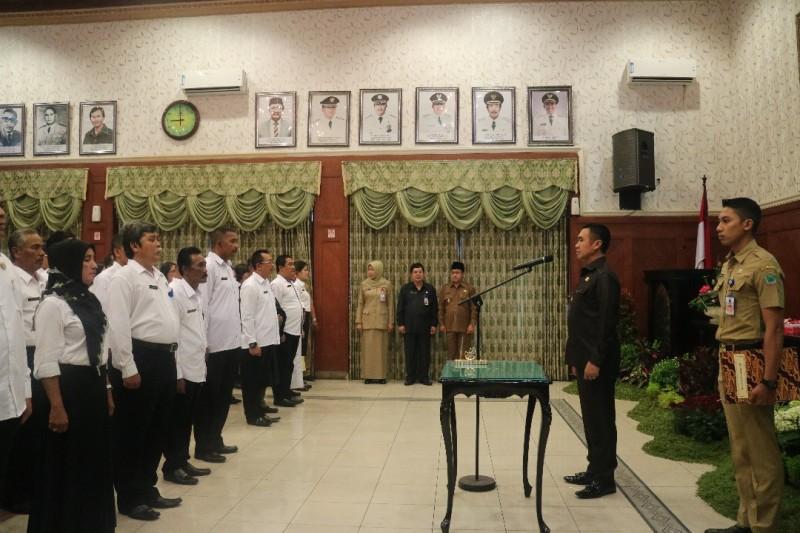 Wali Kota Malang Lantik 184 Pejabat di Lingkungan Pemkot Malang