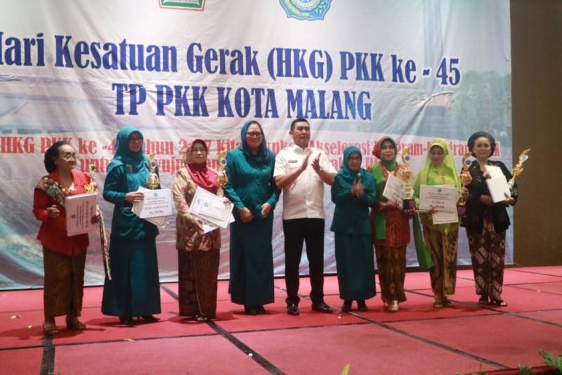 Hadiri HKG PKK ke 45, Walikota Malang Titipkan Banyak Pesan