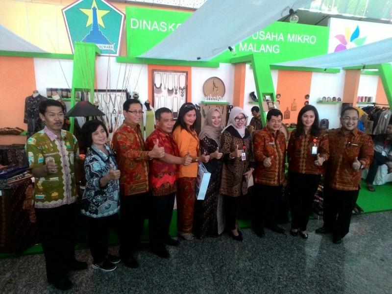 Kota Malang Terpilih jadi kota Branding di ajang Pameran Koperasi dan UMKM Expo 2017