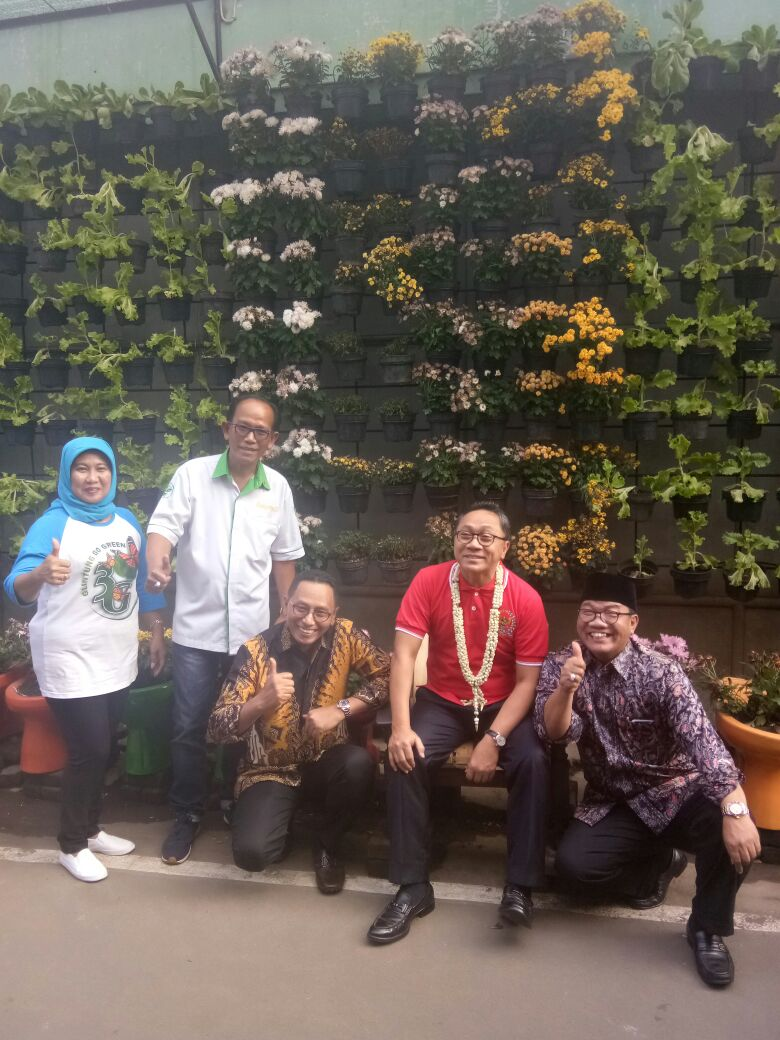 Kampung Glintung Go Green Diresmikan Ketua MPR RI
