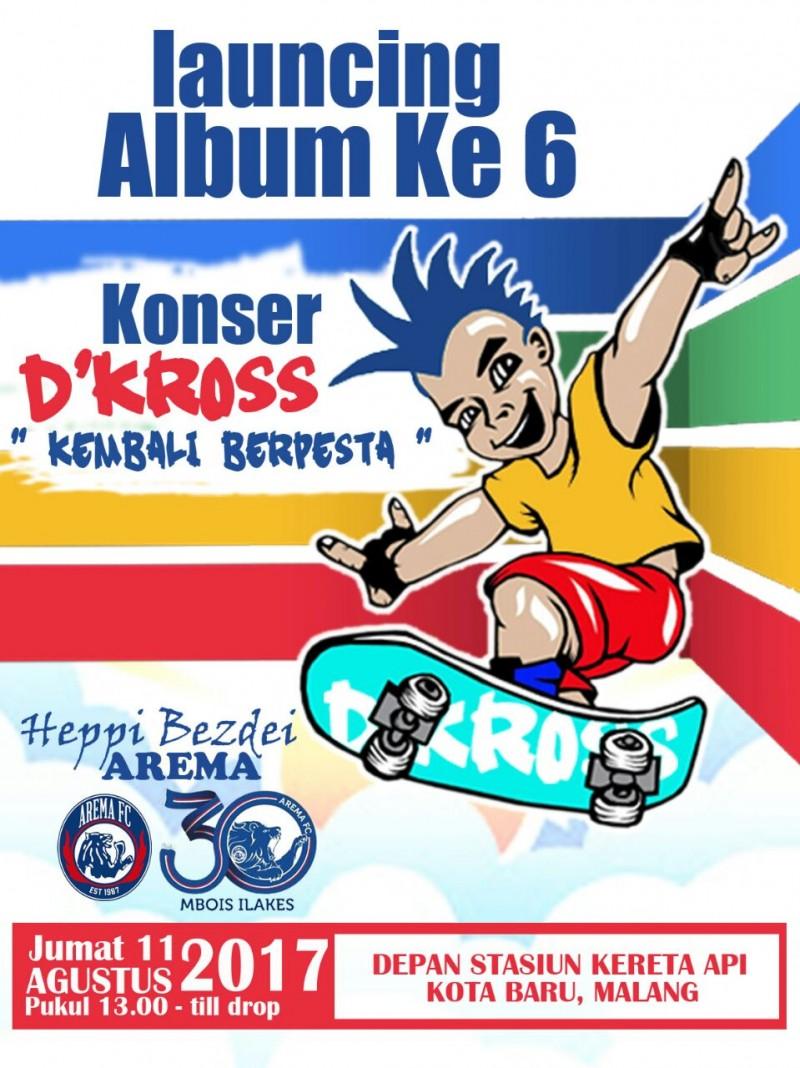 Album Baru Bergenre Punk & Ska Jadi Kado Ultah Arema
