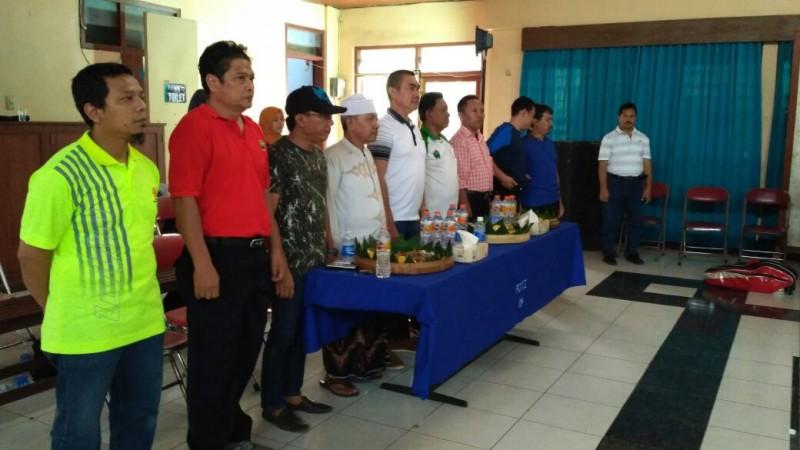 Puluhan Wartawan Malang Guyub Rukun di Pertandingan Bulutangkis