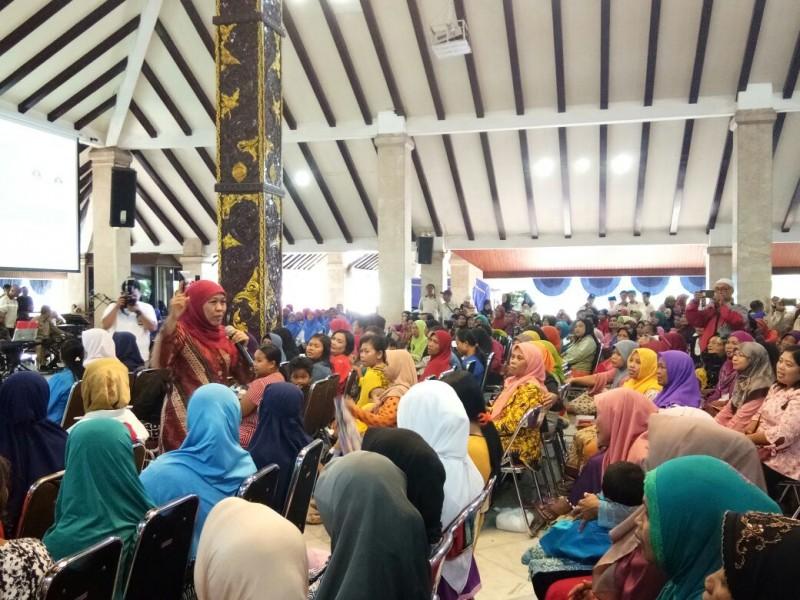 Puluhan Ribu Keluarga di Kabupaten Malang Mendapat Bantuan dari Mensos