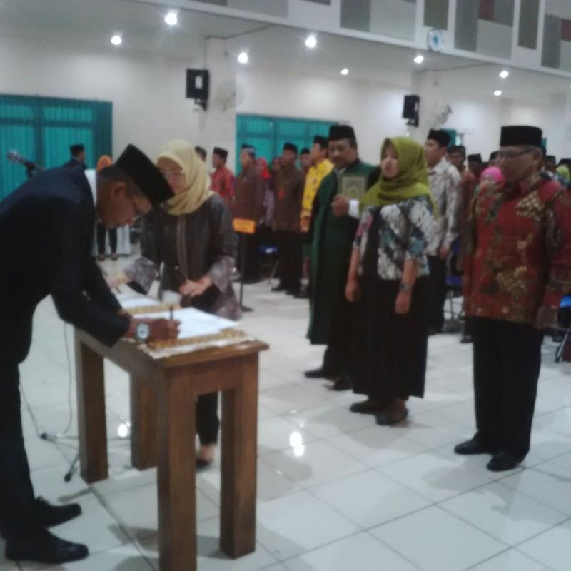 171 Anggota PPS KPU Kota Malang Resmi Dilantik