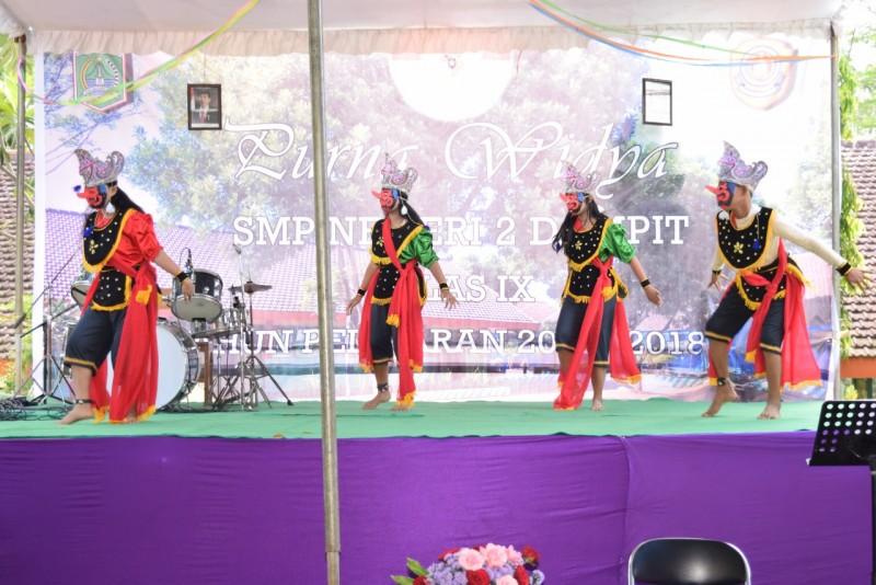 Pramuka SMPN 2 Dampit Cetak generasi muda yang berjiwa Nasionalis dan Cinta Lingkungan