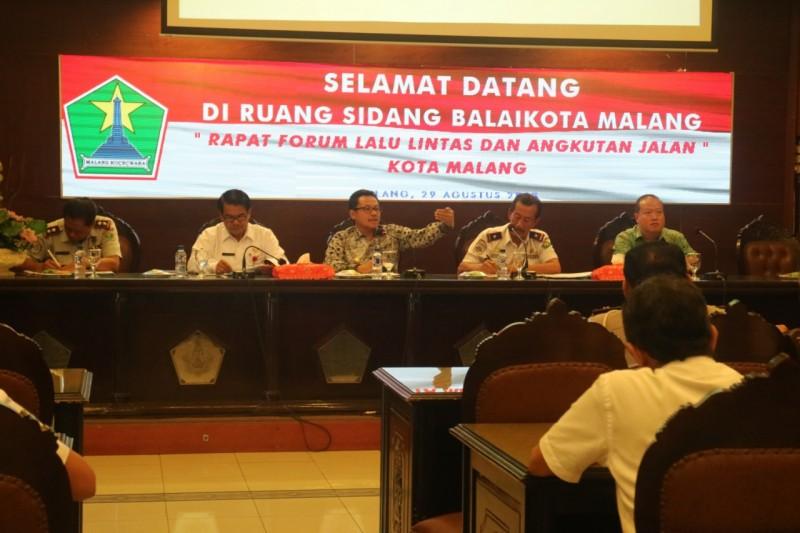 Sutiaji Rencanakan Pembebasan Jalan untuk Atasi Kemacetan Kota Malang.