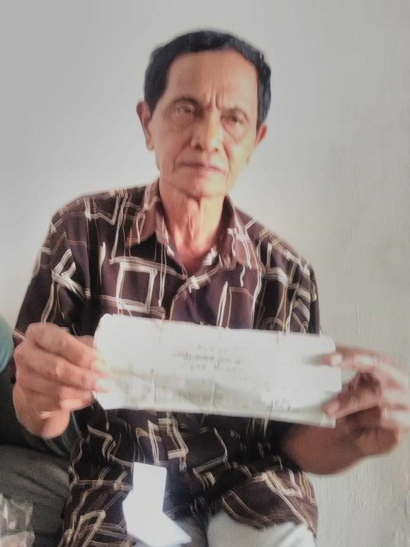 Pensiunan Guru Agama Tipu Warga Desa Kedungsalam Donomulyodijanjikan Jadi PNS
