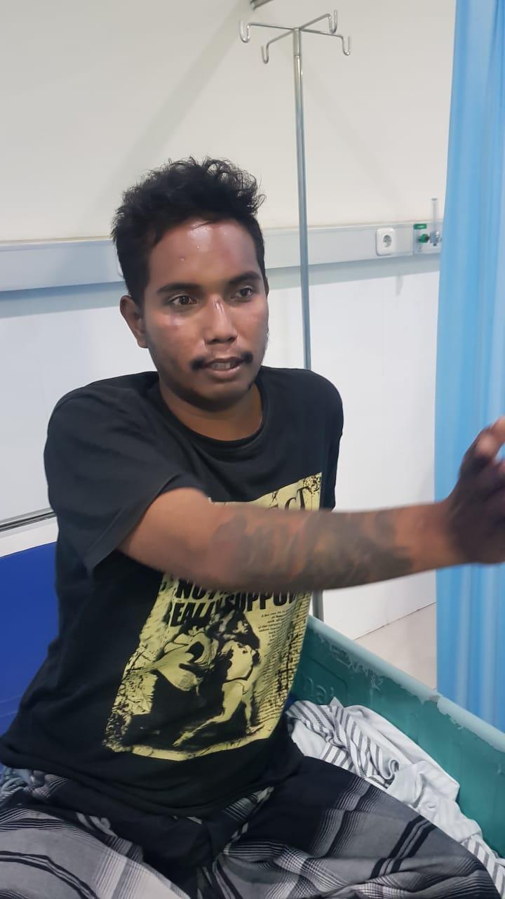 Salah Sasaran Aremania Muharto dipukuli dikira Bonek