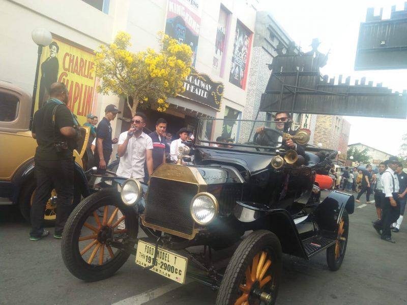 Peringati hari Museum Indonesia, Museum Angkut Perkenalkan Ford Model T dan Cosplay Parade