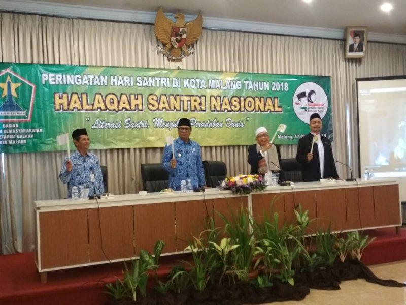 Pemkot Malang Fasilitasi Peringatan Hari Santri Nasional