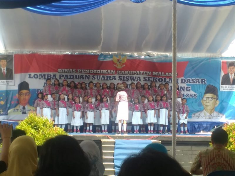 Lomba Paduan Suara SD, Ramaikan Hari Jadi Kabupaten Malang