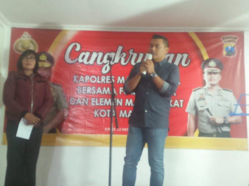 Forpimda Kota Malang Cangkrukan di Rumah Dinas Kapolres Malang Kota
