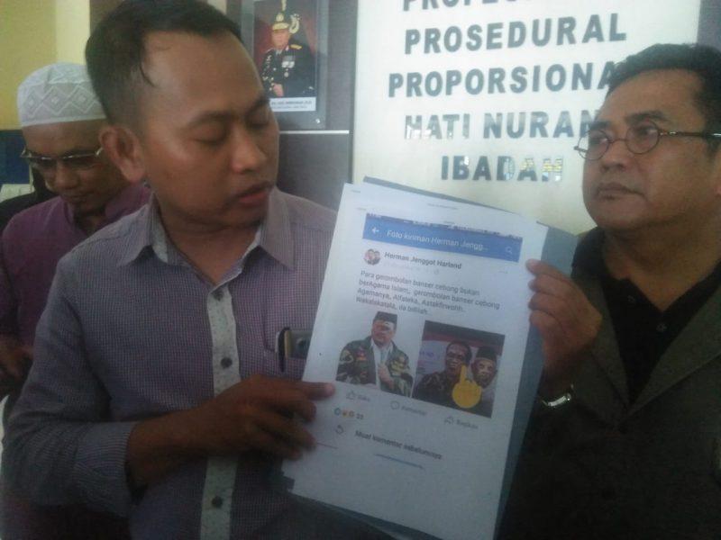 Masyarakat Cinta Indonesia Laporkan Pelaku Pelecehan Foto Jokowi, KH Ma'ruf Amin dan Gus Yaqud