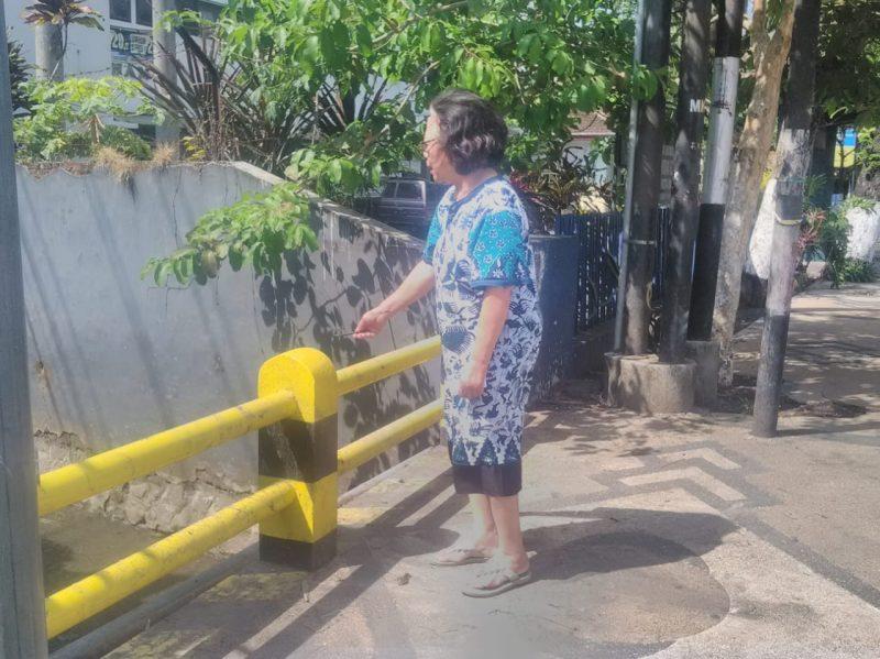Enam RT Sumpil Gang 2 Keluhkan Pembangunan Ruko Memicu Banjir