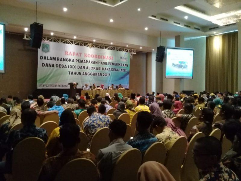 Inspektorat Terkesan Lembek Tangani Kasus Dana Desa di Kabupaten Malang