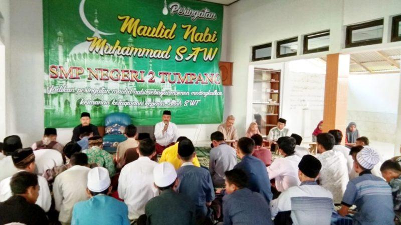 SMPN 2 Tumpang Peringati Hari Maulid Nabi Muhammad SAW untuk dijadikan Karakter Bangsa