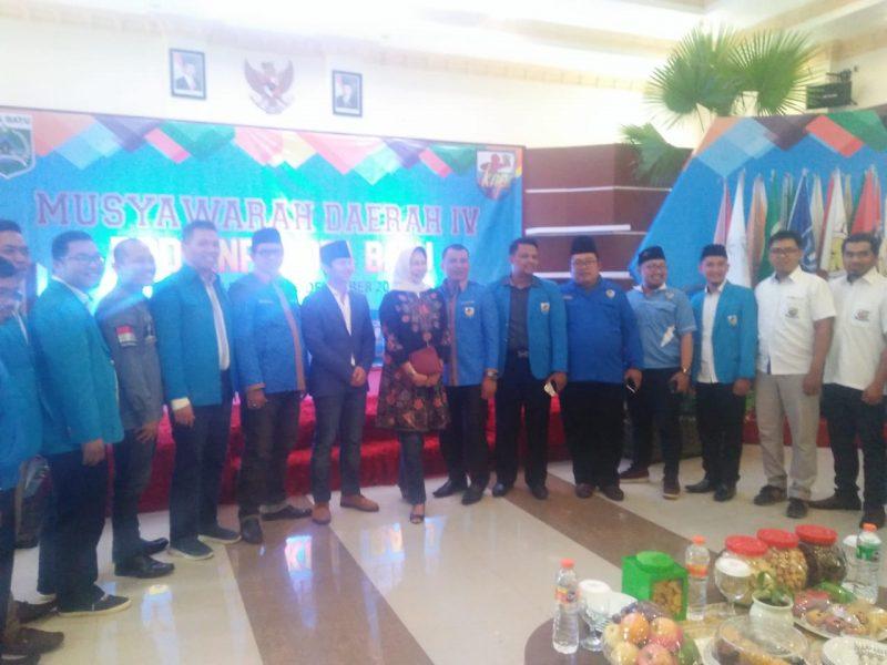 Dianggap Sebagai Barometer Progresifitas KNPI se Jawa Timur, Dewanti Banggakan Pemuda Batu