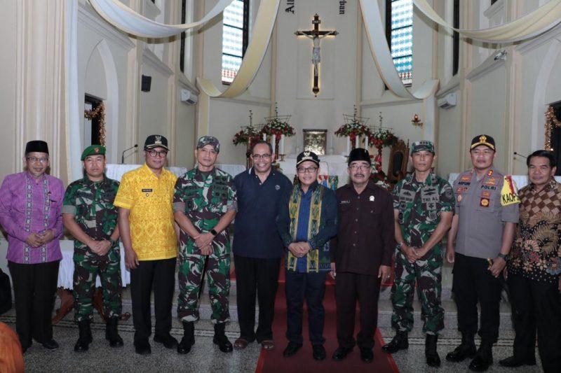 Sutiaji Ajak Forkopimda Kota Malang Untuk Safari Gereja dan Silaturahmi