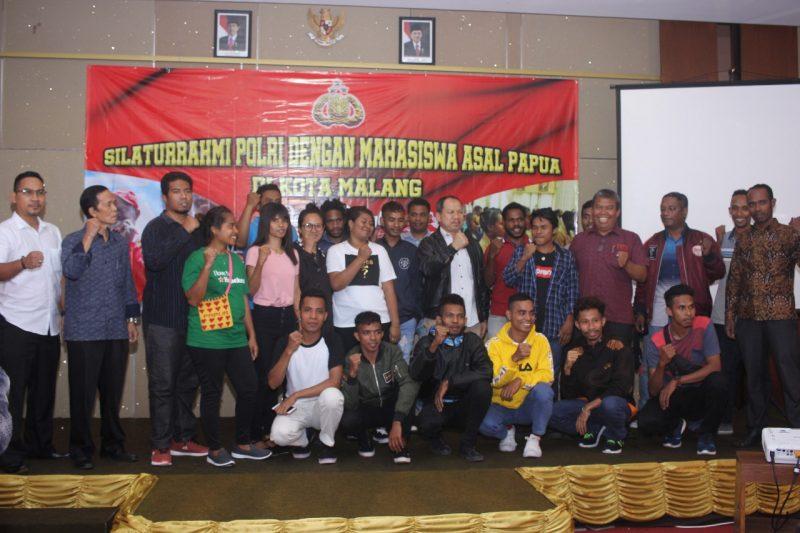 Mahasiswa Papua Sepakat Amankan dan Dukung Pilpres – Pileg di Malang
