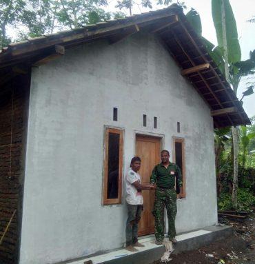 Satgas TMMD Rehab 20 RTLH di Kabupaten Jember