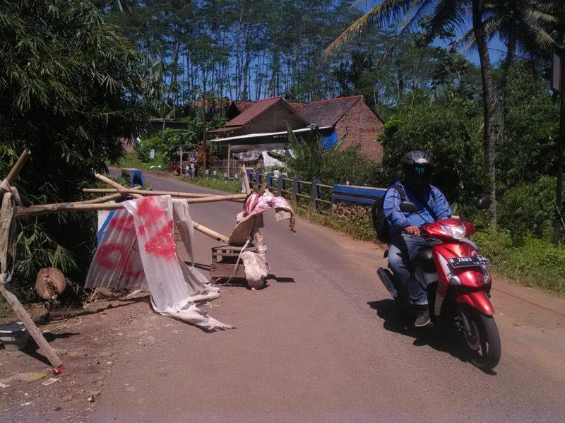 Jembatan Wadung Penghubung Kecamatan Wagir Rawan Ambrol Pengendara Cari Jalan Alternatif