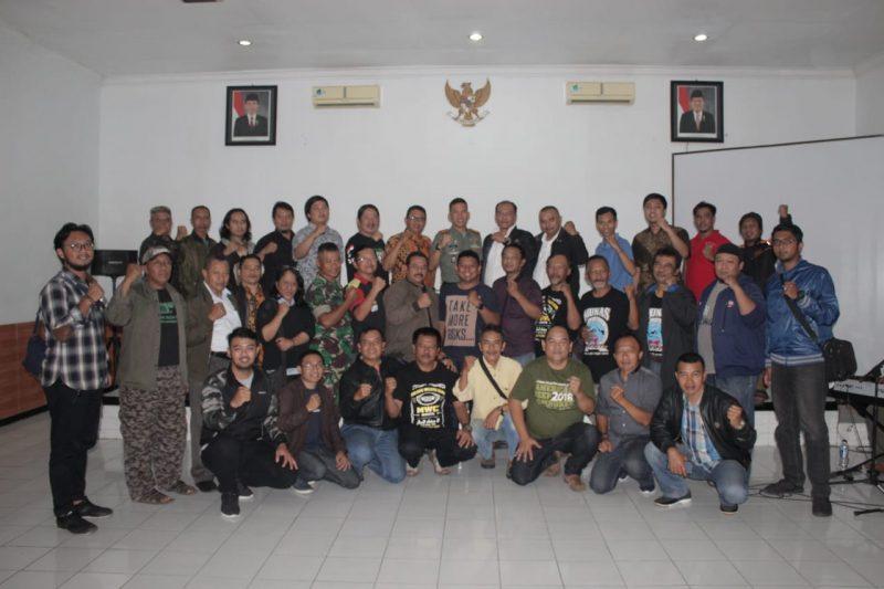 Jelang Pemilu, Dandim 0833 Kota Malang Ajak Rekan Media Jaga Kondusifitas Kota Malang