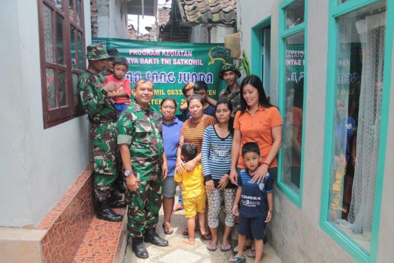 Program Jambanisasi Bakti TNI Ta. 2019 Koramil 0833/01 Klojen di Wilayah Kelurahan Kasin