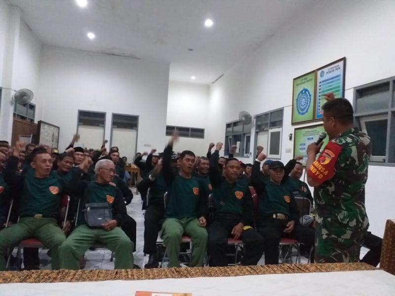 Pembekalan Linmas untuk Mensukseskan Pemilu 2019