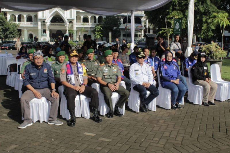 KPU, Bawaslu Siap Gelar Pemilu, TNI Polri Jamin Keamanan Masyarakat