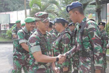 Dandim 0833 Pimpin Upacara Pengembalian Pasukan BKO