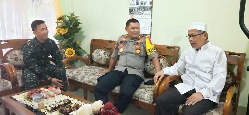 Kapolres Malang Kota dan Dandim 0833 Silaturahmi Bersama Ketua FKUB Kota Malang