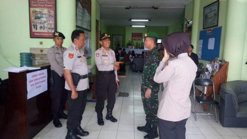 Dandim 0833/Kota Malang Tinjau Kantor PPK Kecamatan Klojen